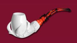 SMS Meerschaum Carvings Claw and Egg