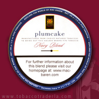 MAC BAREN PLUM CAKE 1.75 ounce tin