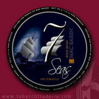 MAC BAREN 7 SEAS ROYAL BLEND 1.75 ounce tin