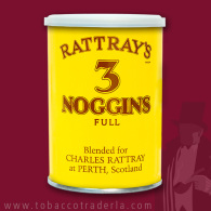 RATTRAY'S 3 NOGGINS 100 gram tin