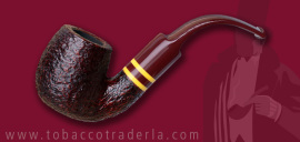 Savinelli Regimental Rusticated Brown 614