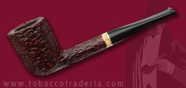 Savinelli Oscar Rusticated Brown 412 KS