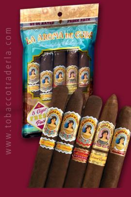 La Aroma de Cuba 5 Cigar Sampler