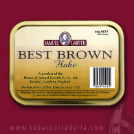 Samuel Gawith's Best Brown Flake 50 gram tin