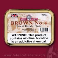 Samuel Gawith's Brown #4 50 gram tin