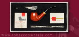John Aylesbury  The Pipe Smokers  Beginner Set  Bent Billiard Smooth